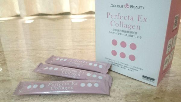 ♣ 膠原蛋白 ↬ 倍爾麗 Perfecta  Ex多元魚鱗膠原胜肽 ✍ 體驗