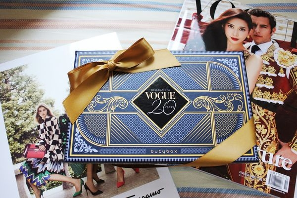 ♣ VOGUE 20周年 ↬ butybox 10月美妝體驗盒 ✍ 邀稿