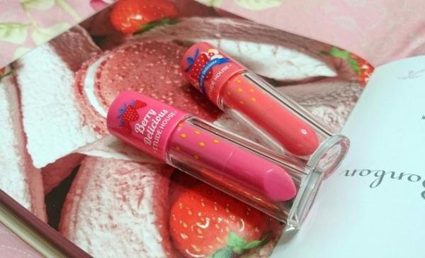 ♥ 草莓系彩妝 ↬ ETUDE HOUSE 莓好時光琉光水釀唇釉
