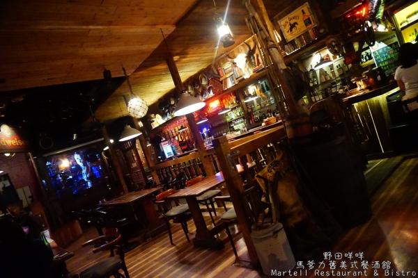 【高雄】✺馬爹力舊美式餐酒館(Martell Restaurant & Bistro)✺一把青拍攝場地.各種繽紛調酒.復古美式風