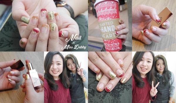 ::NAIL:: 過年喜氣洋洋贏錢光療指甲|台北關渡・Chic Ten 優雅、時 美學工作室