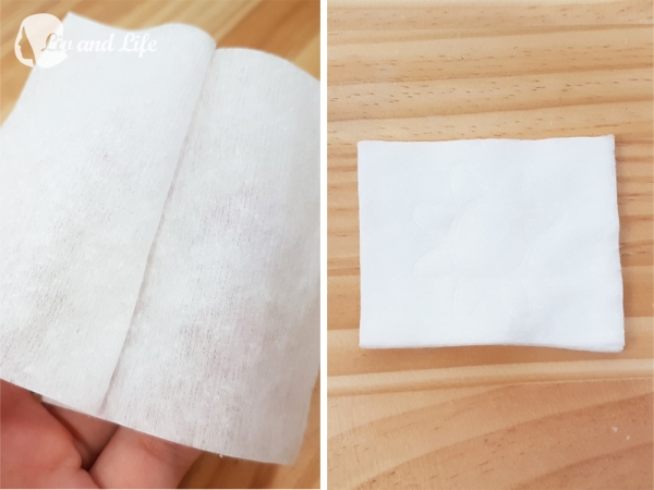 丸三五層可撕型敷面化妝棉化妝棉評測42.jpg