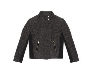 JCWFKJ57333SG4 KNT LUREX BOUCLE FUNNEL NECK JACKET DARK GRAY 0008 TWD14200.jpg