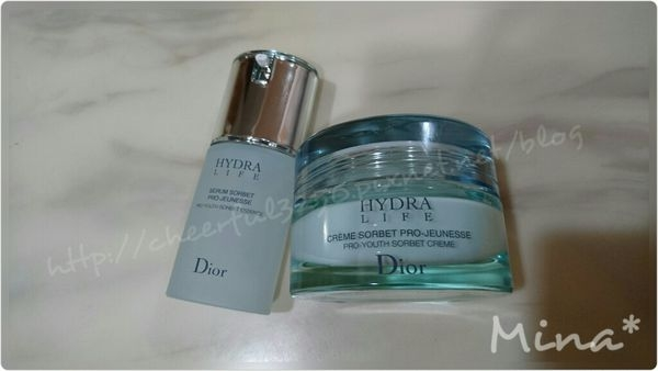【保養】Dior 迪奧水彈力保濕精華凝霜&水彈力保濕精華
