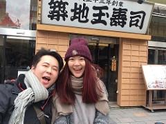 日本東京自由行 行程景點美食推薦 築地玉壽司 DAY3