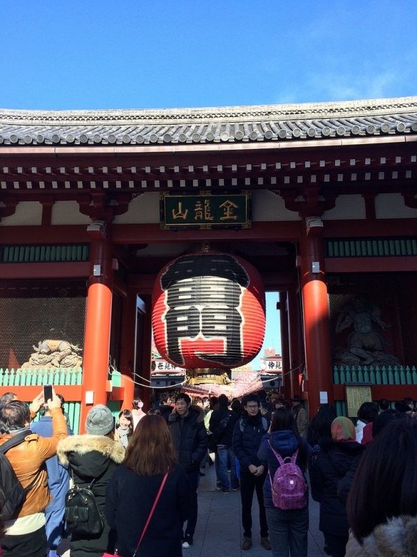 日本東京自由行行程安排景點推薦 淺草雷門美食 租和服 並木藪蕎麦 松屋  (DAY5)