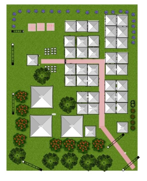 結婚戶外婚禮場地 納美花園 場地座位規畫分佈&帳篷桌椅租借廠商介紹