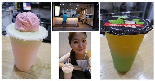 新北中和手搖飲料店推薦 品茶憩 超夢幻飲品明治草莓冰淇淋冰沙&健康好喝綠茶多酚 夏日清涼健康&甜美消暑飲品新選擇