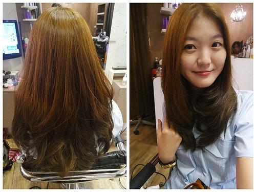 漂髮不傷髮結構式護髮染髮推薦 帕朵PartOut專業美髮沙龍 柔和漸層咖啡棕