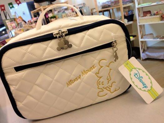 [日系包款] # 迪士尼 米老鼠 菱格紋 手提袋 # 聖誕禮   # Disney Micky Mouse lozenge pattern handbag # Christmas Gift