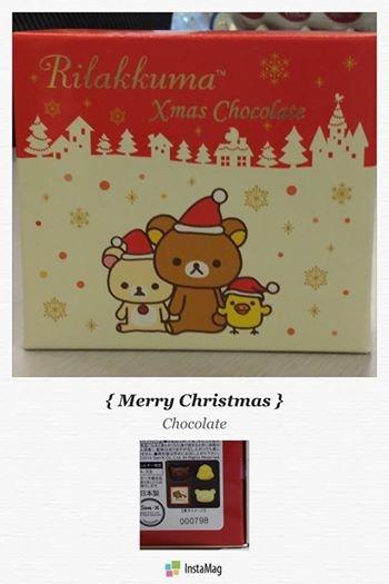 [日本零食] # 拉拉熊 造型巧克力 #
