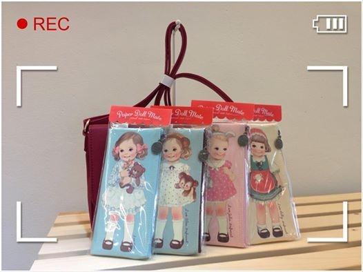 [韓國雜貨] # 洋娃娃筆袋 Doll pencil case #