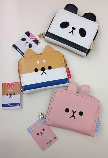[日系包款] 胖達 兔兔 狗狗 造型錢包