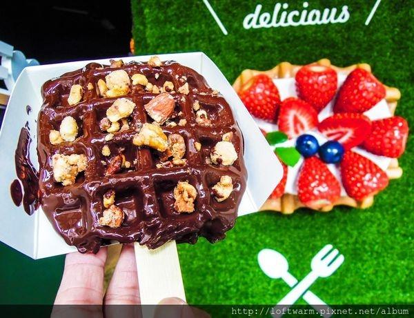 韓國 Limburg waffle 美味比利時鬆餅來台灣了~新竹的好吃格子鬆餅甜點店又多了一家림벅와플~(附菜單價位價目表...