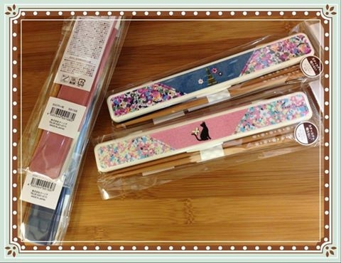 [日本雜貨] # 日本製 小白花朵竹筷 #