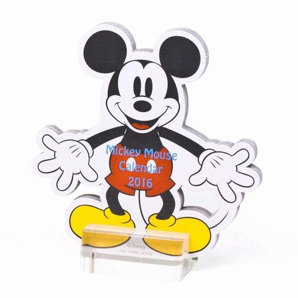 [日本雜貨] 迪士尼 米奇米妮 立體桌曆