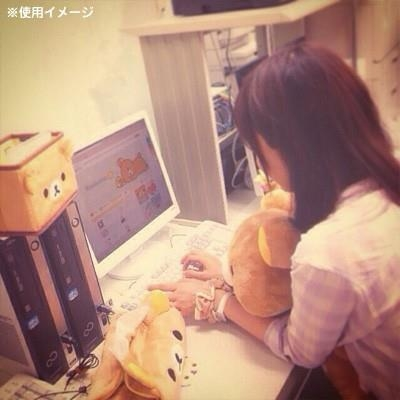 [日本雜貨] 拉拉熊造型置物盒~看著懶懶熊的臉轉換心情瞬間大好!
