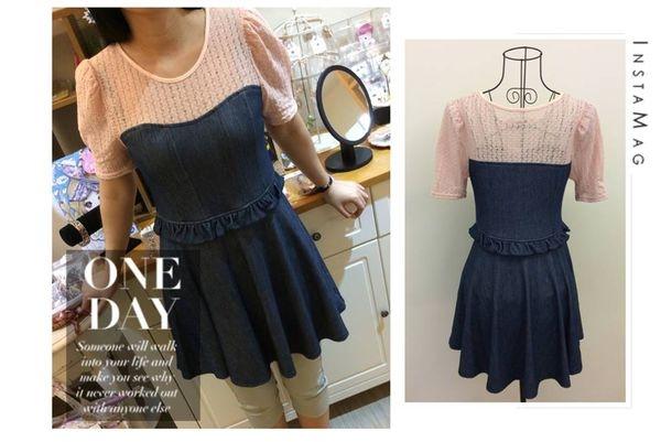 [日本雜貨] TRALALA トゥララ 短袖洋裝