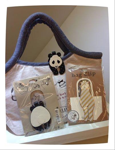 [日本雜貨] # 動物造型 袋夾 Bag Clip #
