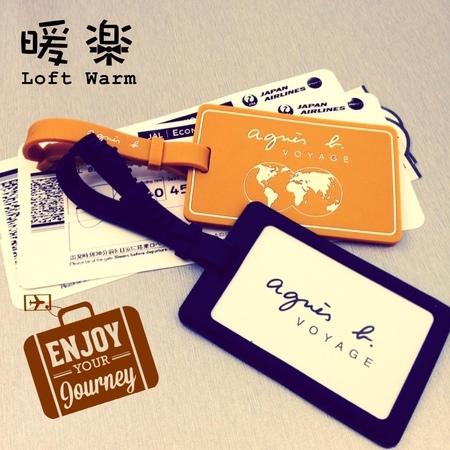 [日本雜貨] 暖樂 Loft Warm - Agnes b 旅行 行李吊牌