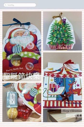 [日本雜貨] # 聖誕老人 聖誕樹 麋鹿雪橇 浴沐組 #