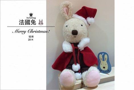 [日本雜貨] # 聖誕版 法國兔 #