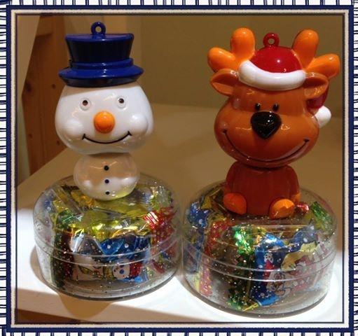 [日本零食] # 小雪人 麋鹿 糖果盒 #