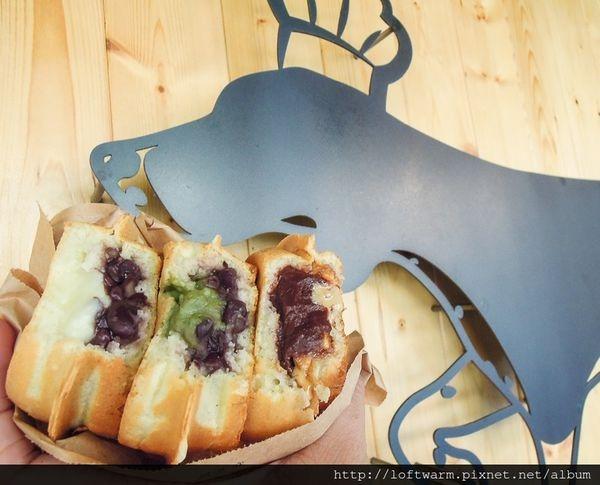 新竹日式車輪餅推薦 小羅賓的廚房Robin's Kitchen 老宅風格販賣的美味小點心 奶油紅豆餅 抹茶紅豆餅 巧克力花生口味!