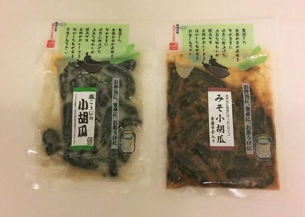[日本零食] 日式風味漬物 鹽味 味增唐辛子小胡瓜醬菜