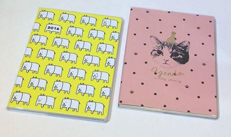 [日本雜貨] 2016 行事曆記事本 手帳本 新款再上架