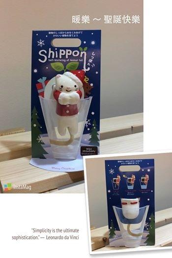 [日本雜貨] # 聖誕版 小白貓造型小盆栽 #