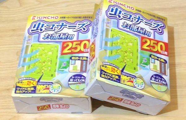 [日本雜貨] 日本 KINCHO 防蚊掛片即將完售!!