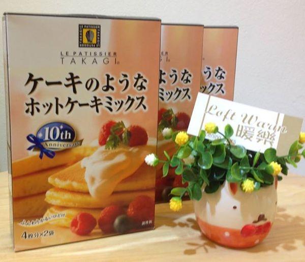 [日本零食] 高木康政 鬆餅粉 上架囉!!