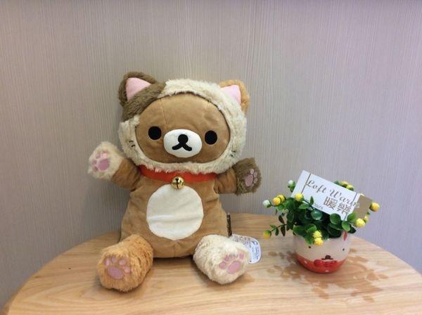 [日本雜貨] 超人氣 拉拉熊絨毛玩偶  手偶