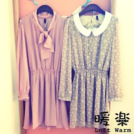 [日本雜貨] 暖樂 Loft Warm - 初秋洋裝推薦
