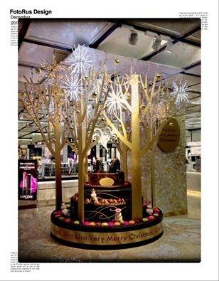 [日本隨處走] 送上一顆美麗的 蛋糕聖誕樹!!
