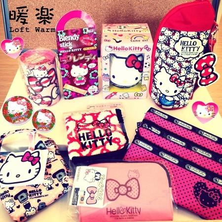 [日本雜貨] 暖樂 Loft Warm - Hello Kitty 40週年慶!!!