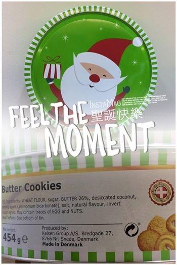 [歐美零食] # 聖誕老人鐵盒奶油餅乾 #