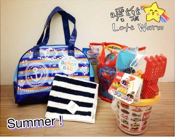 [日本雜貨] 週末囉!想帶寶貝們去玩水嗎?海灘包 Hello Kitty披肩 玩沙組 毛巾