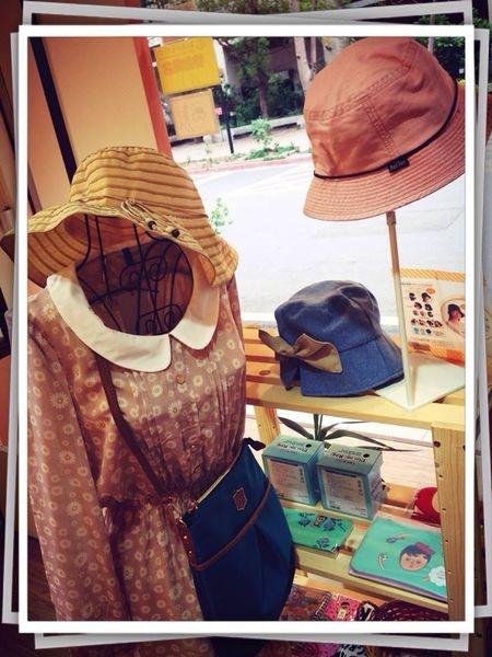 [日本雜貨] 美麗大方的氣質帽款