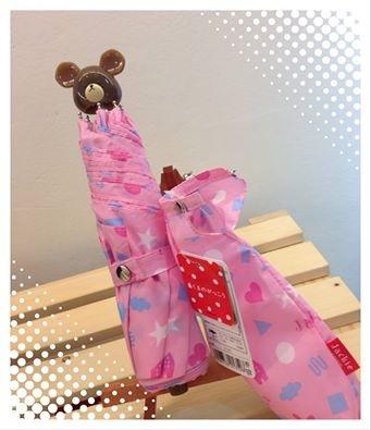 [日本雜貨] 小熊學校 The bear school Jackie 晴雨摺疊傘
