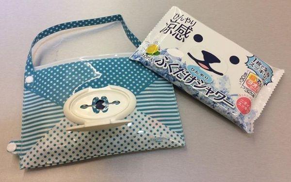 [日本雜貨] EDISON 濕紙巾盒/小提袋