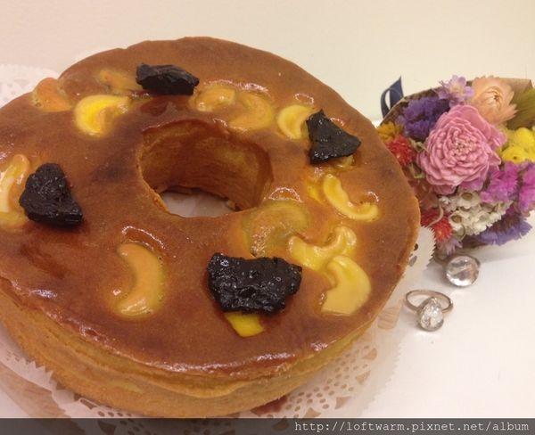 中崎本舖布丁蛋糕/傳統訂婚蛋糕~古早味的我願意!!