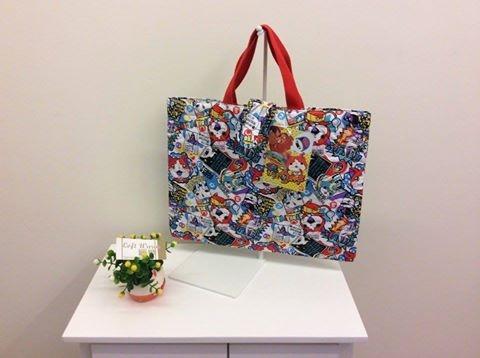 [日系包款] 聖誕禮物 交換禮物 大推薦   妖怪手錶手提袋 束口背包