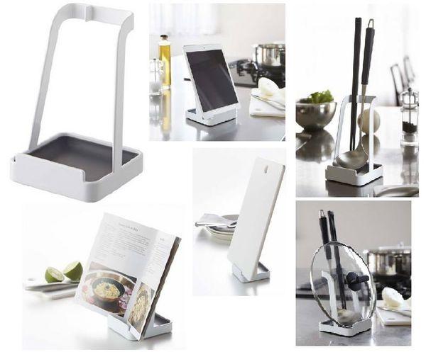 [日本雜貨] Tower 多功能廚房用具置物架