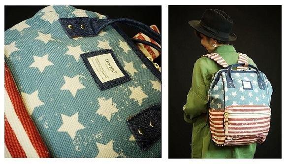 [日系包款] Anello大容量口金後背包!! 新款式 及 mini版的 上架囉!!