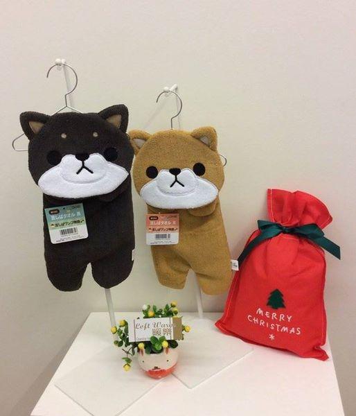 [日本雜貨] 聖誕禮物 交換禮物 大推薦  萌萌的豆柴擦手巾 上架中