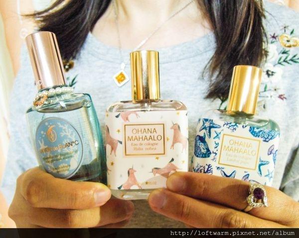 日本平價香水推薦 OHANA MAHAALO 歐哈娜香水 SAVON de BLANC珊瑚藍香水 日系少女輕熟女也喜愛的味道~
