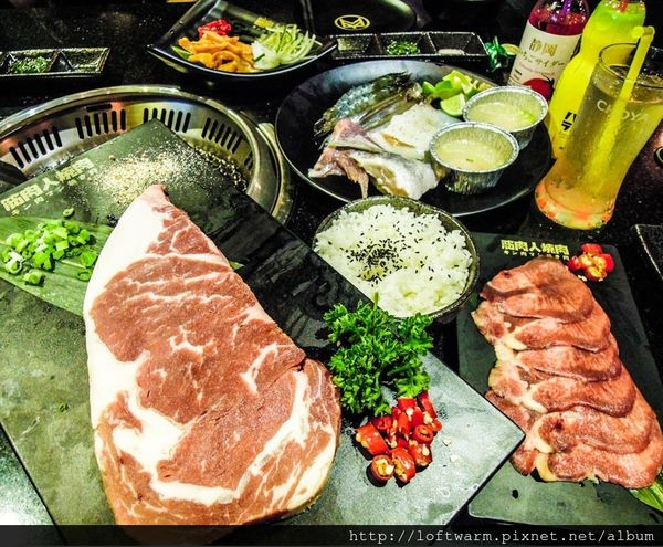 新竹北區美食燒肉推薦 筋肉人焼肉 無煙燒烤 還有好吃的澳洲和牛!