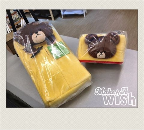 [日本雜貨] 小熊學校 面紙盒套!!!!!